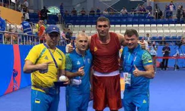 Український важковаговик здобув золото на Європейських іграх