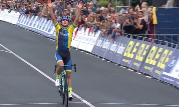 Український велогонщик став чемпіоном Європи