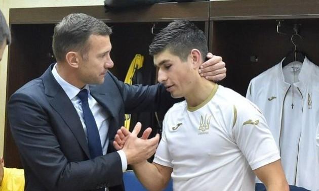 Шевченко: Маліновський потрапив у відмінну команду
