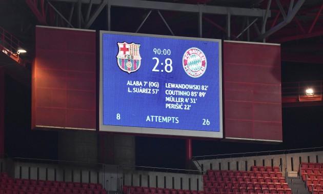 У традиціях німецьких фільмів. Відеоогляд матчу Барселона - Баварія
