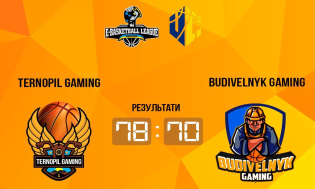 Budivelnyk Gaming поступився Ternopil Gaming та втратив шанси вийти до плей-оф