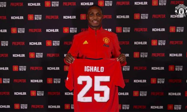Ігало покинув Манчестер Юнайтед