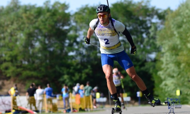 Тищенко виграв гонку переслідування на літньому чемпіонаті України