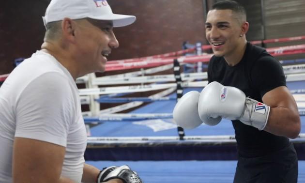 Я піду з боксу, якщо ми програємо Ломаченку - Лопес-старший