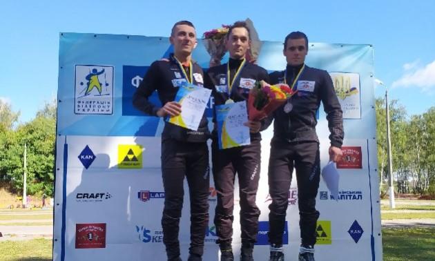 Тищенко виграв спринт на літньому чемпіонаті України з біатлону