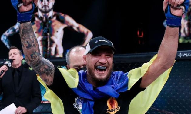 Амосов претендує на титул найкращого бійця MMA у світі