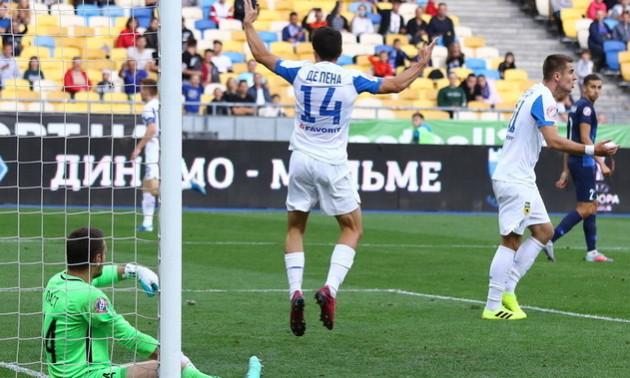 Легіонер Динамо забив фантастичний гол на тренуванні