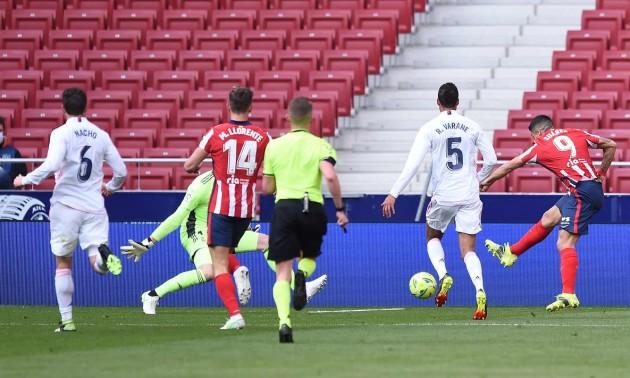 Реал вирвав нічию в Атлетіко у 26 турі Ла-Ліги