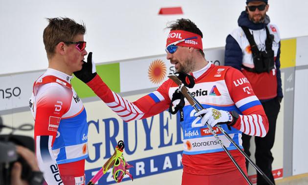 Дикість тижня. Російський лижник накинувся на суперника після гонки. ВІДЕО