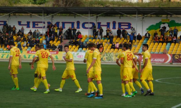 Інгулець здолав Миколаїв у неймовірному матчі у 10 турі Першої ліги