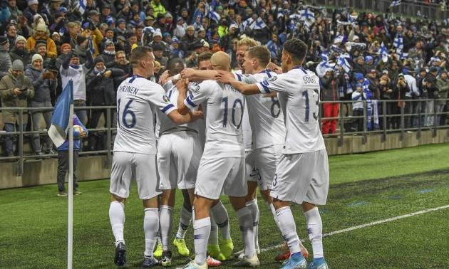 Збірна Фінляндії вперше зіграє на чемпіонаті Європи