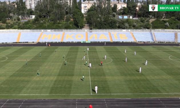 Миколаїв - Оболонь Бровар 0:2. Огляд матчу