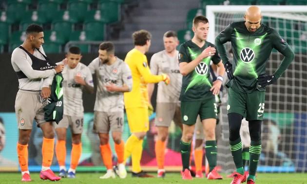 Ліга Європи. Шахтар Донецьк - Вольфсбург 3:0: Як це було
