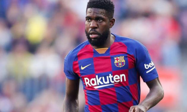 Барселона не розраховує на Умтіті