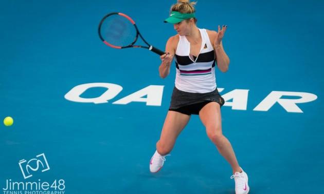 Світоліна у фантастичному матчі поступилася Халеп на Qatar Open