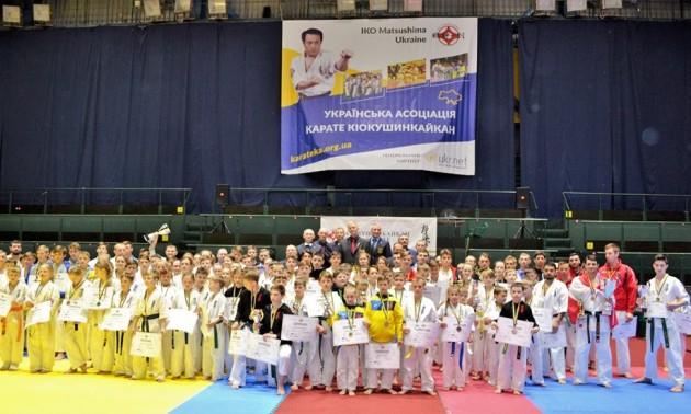 У Києві відбувся другий відкритий кубок Мацушими з Карате Кіокушинкайкан