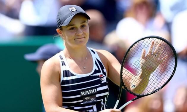 Барті стала тенісисткою року за версією WTA