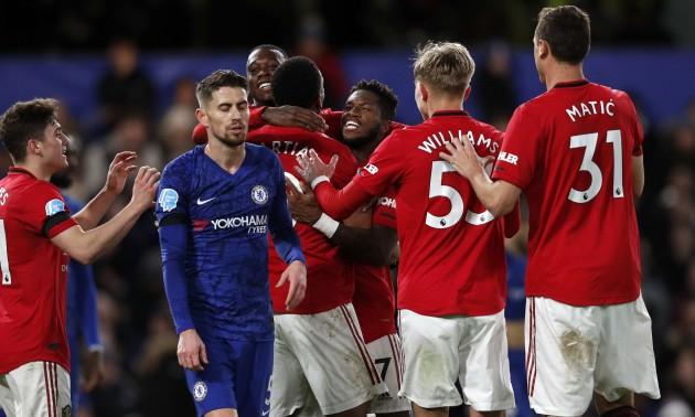 Челсі - Манчестер Юнайтед 0:2. Огляд матчу