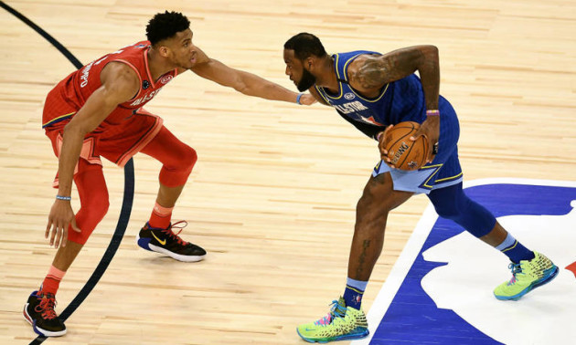 Команда Янніса - Команда Леброна 155:157. Огляд Матчу всіх зірок НБА