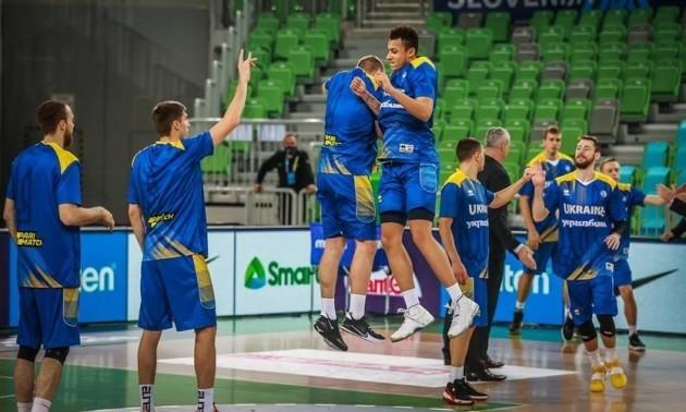 Україна перемогла Словенію в кваліфікації на Євробаскет-2022