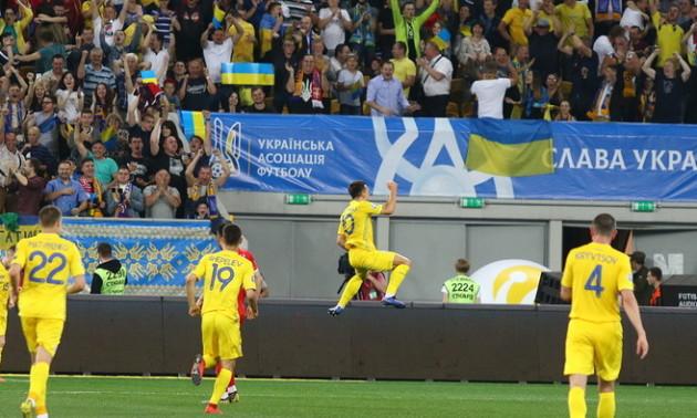 Збірна України провела тренування у Вільнюсі