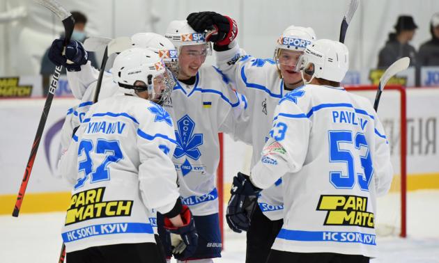 Сокіл на виїзді переграв Дніпро у 2 турі УХЛ