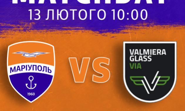 Маріуполь забив 9 голів у ворота Валмієри у контрольному матчі