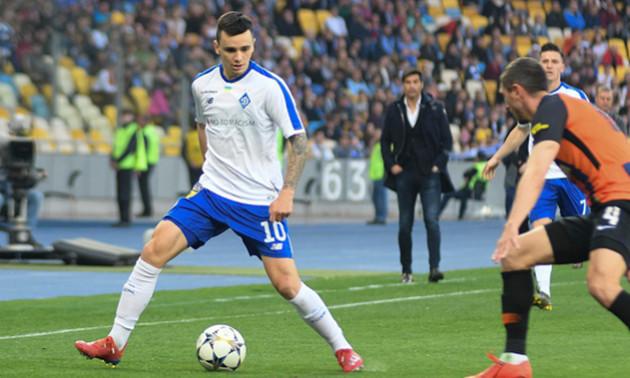 Шапаренко хотів покинути Динамо перед стартом сезону