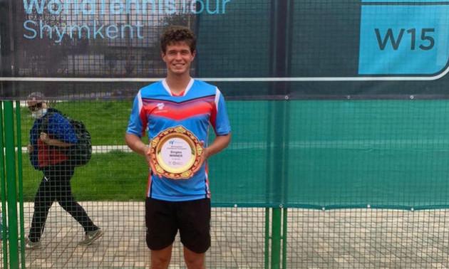 Ваншельбойм виграв турнір ITF у Казахстані