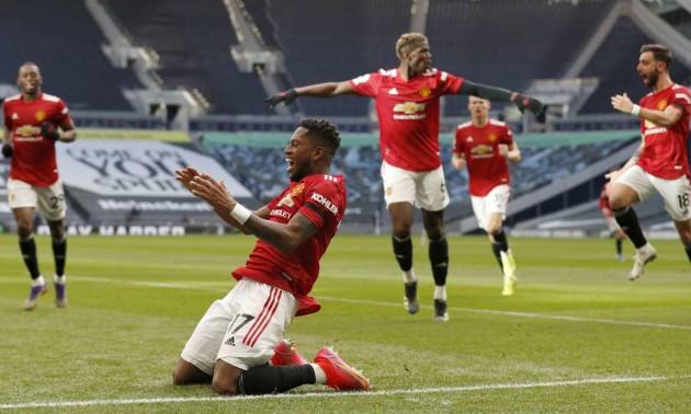 Манчестер Юнайтед на виїзді переграв Тоттенгем у 31 турі АПЛ