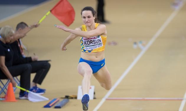 Корсун завоювала золото Універсіади в потрійному стрибку