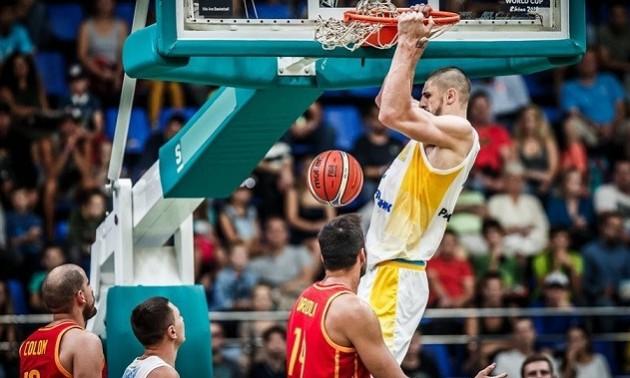 Історична перемога збірної України над найкращою баскетбольною збірною Європи. ВІДЕО