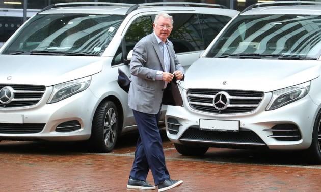 Фергюсон відвідав готель ПСЖ перед матчем з Манчестер Сіті