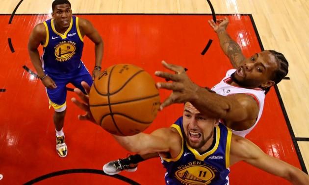 Голден Стейт - Торонто: онлайн-трансляція матчу НБА