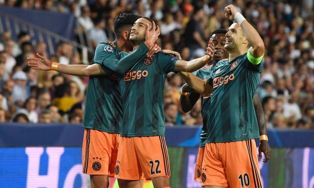 Нападник Аякса забив шедевральний гол у ворота Валенсії