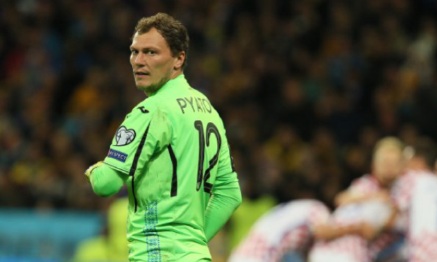 Пятов - найкращий воротар відбору на Євро-2020 за версією InStat