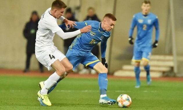 Збірна України на останніх хвилинах вирвала перемогу в Естонії у контрольному матчі
