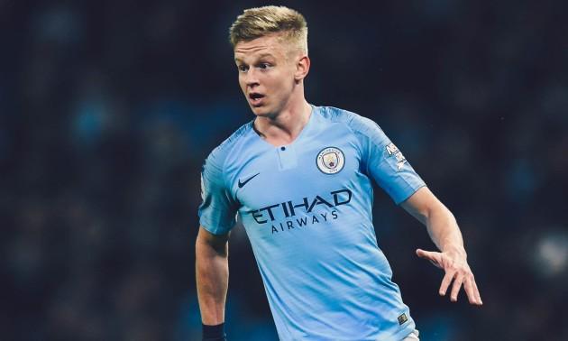 Зінченко — найкращий гравець Манчестер Сіті в лютому