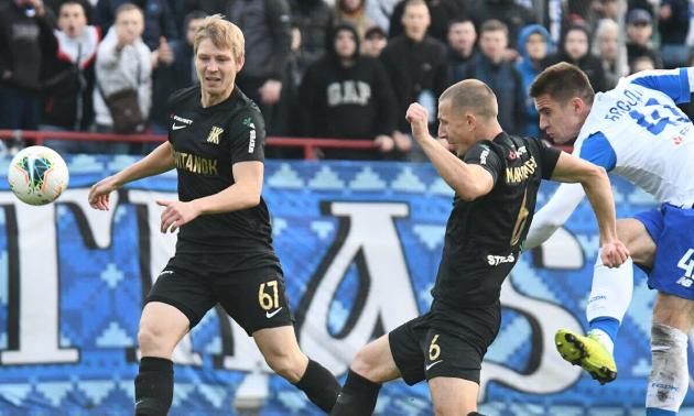 Колос - Динамо 0:4. Відео голів
