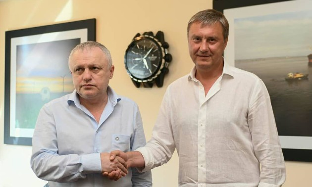 Динамо продовжило контракт з Хацкевичем