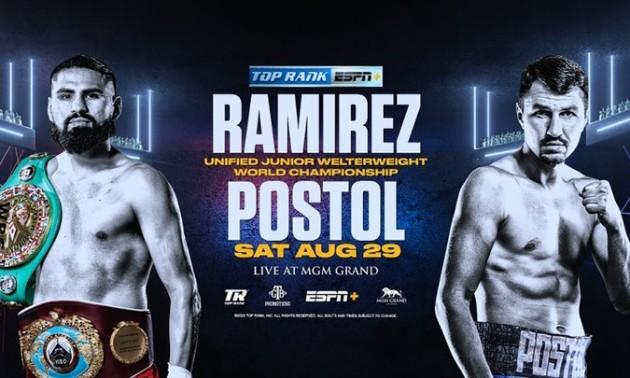 Постол - Рамірес: онлайн-трансляція чемпіонського бою WBC і WBO. LIVE