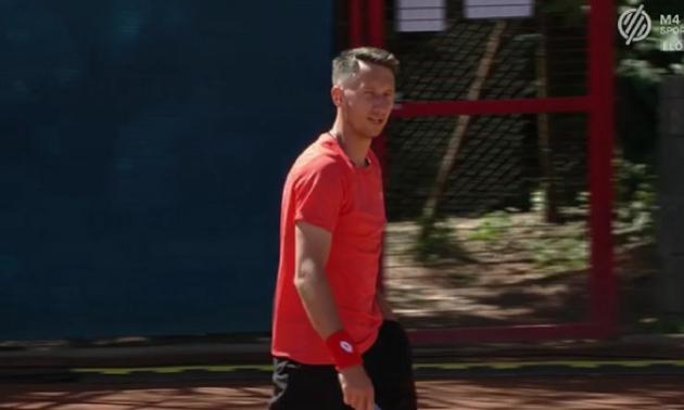 Стаховський поступився на старті турніру в Будапешті