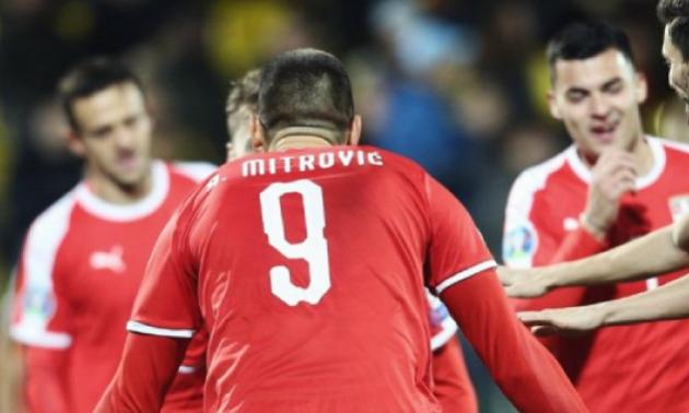 Сербія оголосила заявку на матчі відбору Євро-2020 проти України та Люксембургу