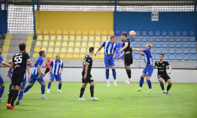 Дебютант Першої ліги зіграв внічию з угорським клубом