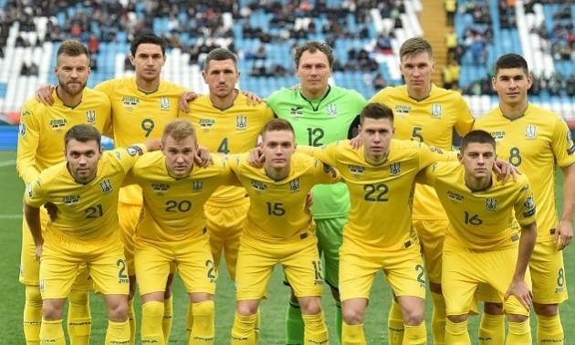 Збірна України зберегла своє місце у рейтингу ФІФА