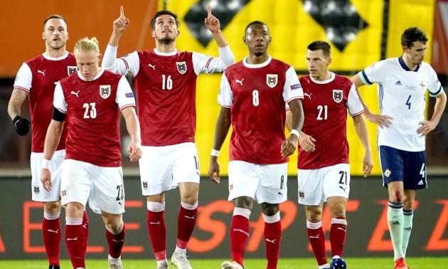 Австрія - Північна Ірландія 2:1. Огляд матчу