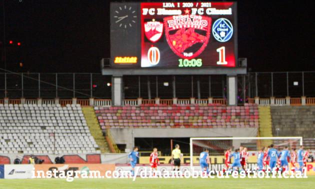 Фанати румунського Динамо підтримали команду з повітряної кулі