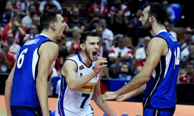 Збірна Італії стала чемпіоном Європи з волейболу