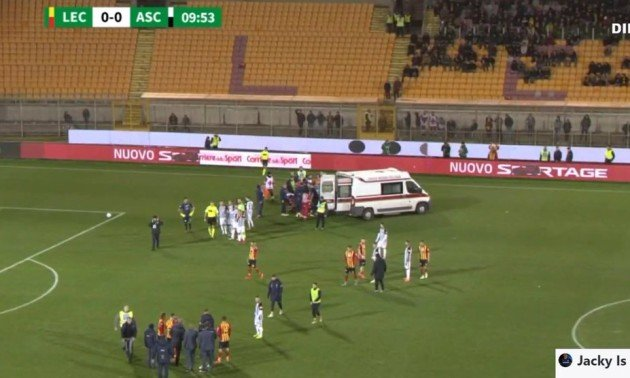 Страшна травма в Італії стала причиною скасування матчу. ВІДЕО
