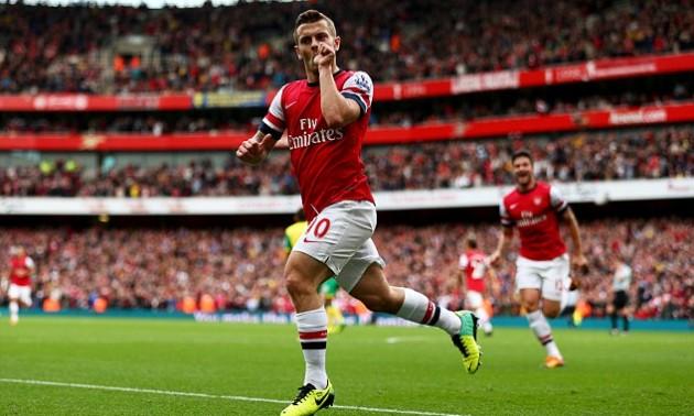 5 років тому Арсенал забив неймовірний гол Норвічу. ВІДЕО